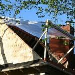 Wykańczanie dachu